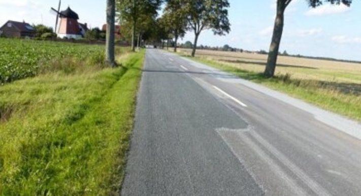 Weg asfalt landschap